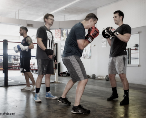 BOXING GYM SCENES PART 40