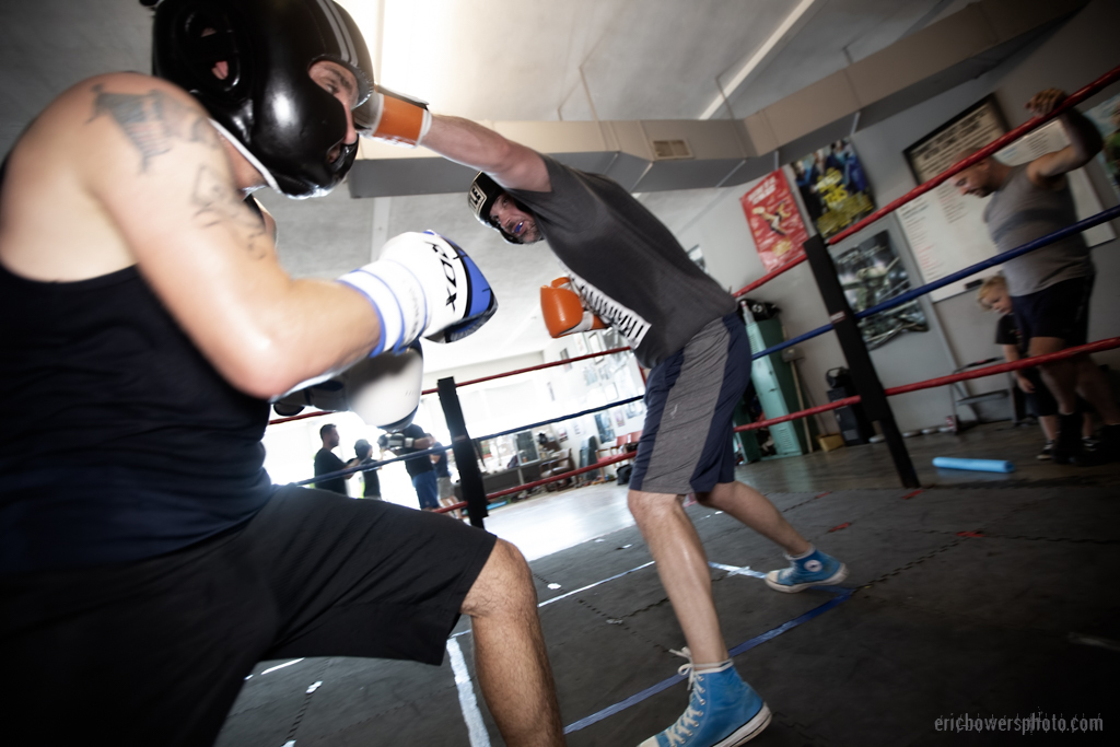 Boxing Gym Scenes Part 42