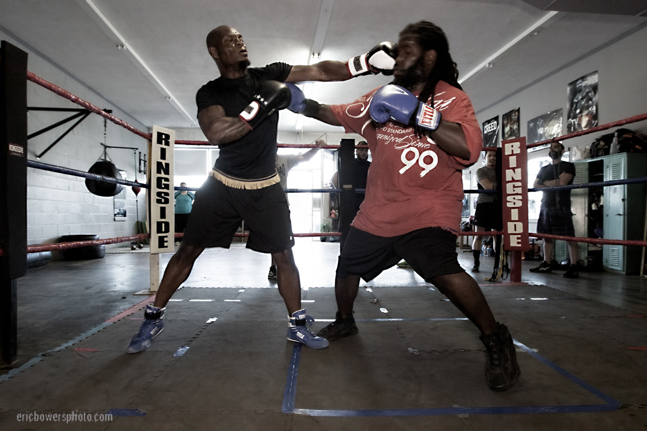 Boxing Gym Scenes Part 44