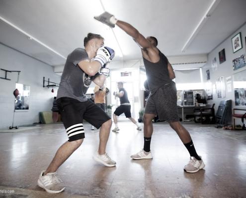 Boxing Gym Scenes Part 47