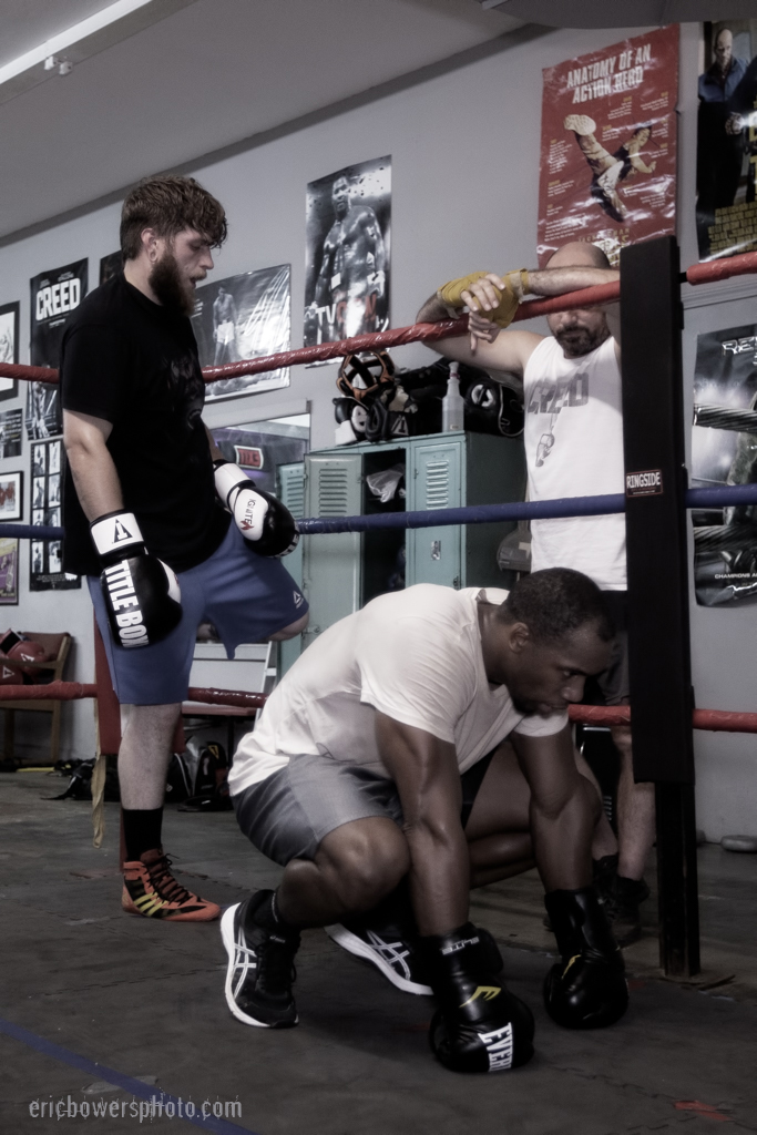 Boxing Gym Scenes Part 51
