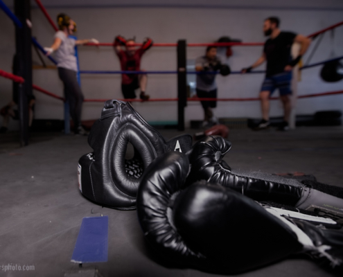 Boxing Gym Scenes Part 45