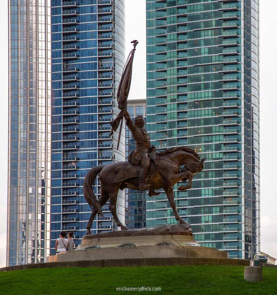 John Logan Statue at Chicago's Grant Park