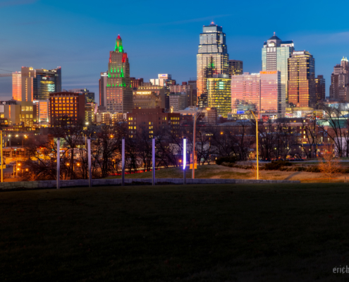 Kansas City Skyline 2019