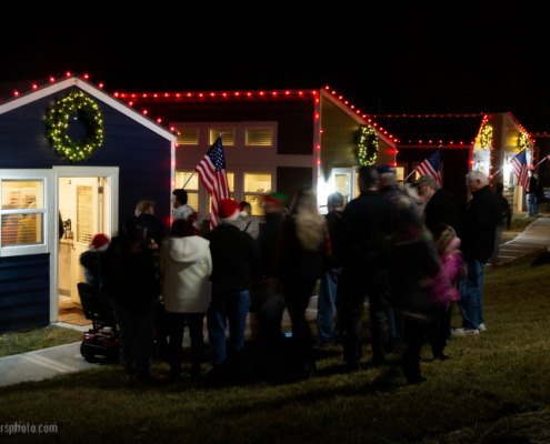 Veteran's Community Project Christmas Lighting