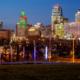 Kansas City Loews Hotel with Downtown Skyline (3)
