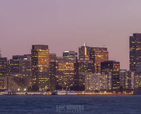 San Francisco Skyline from Treasure Island (2)