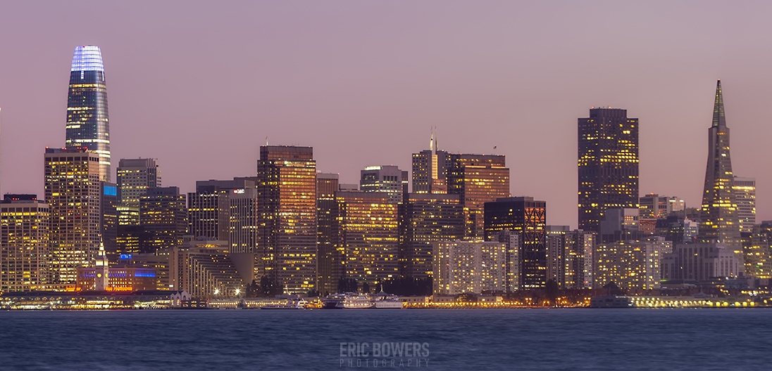 San Francisco Skyline from Treasure Island (2)