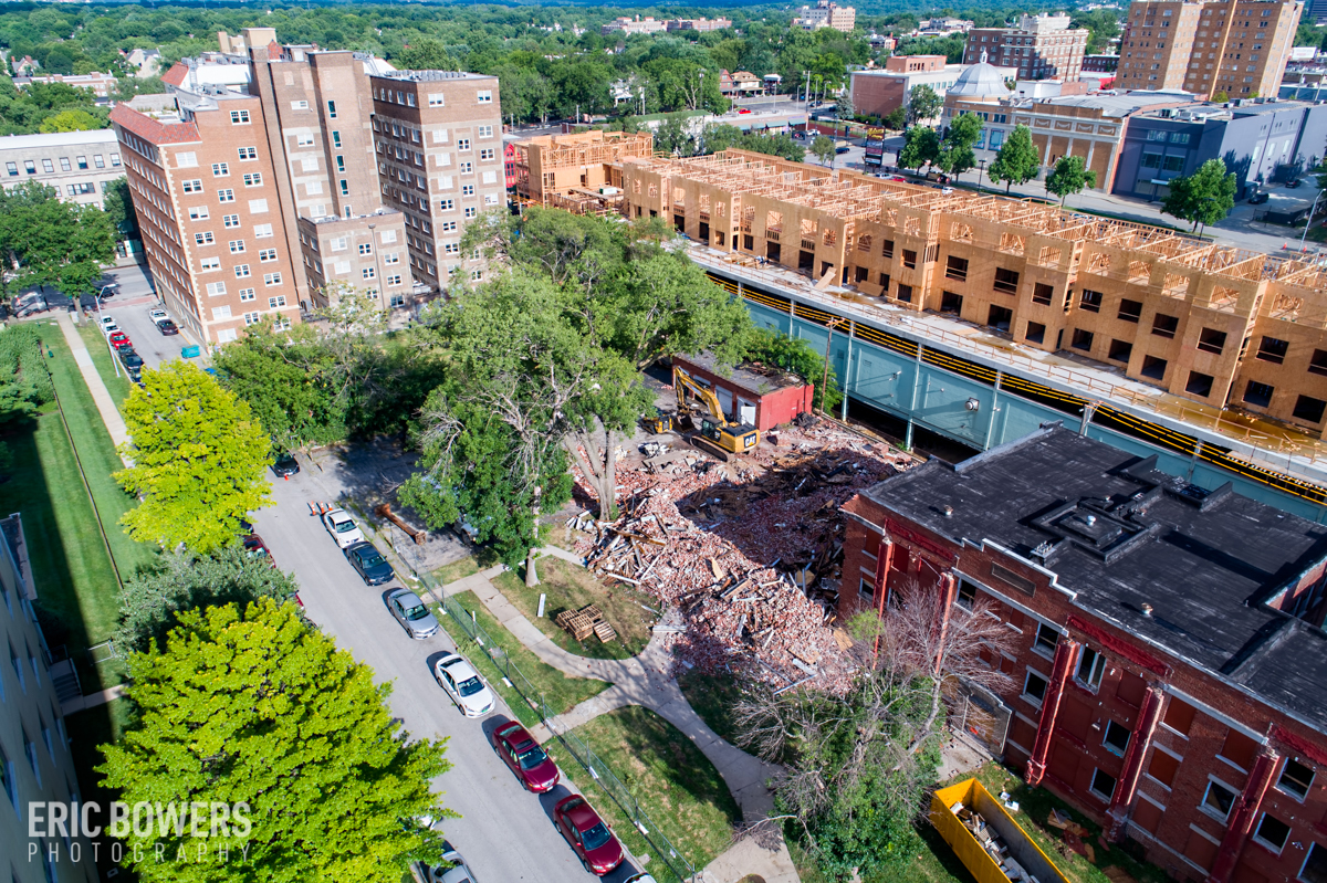 Knickerbocker Apartments Demolition