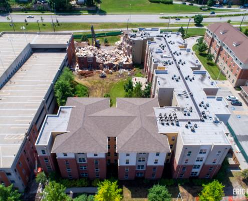Demolition of UMKC Student Apartments