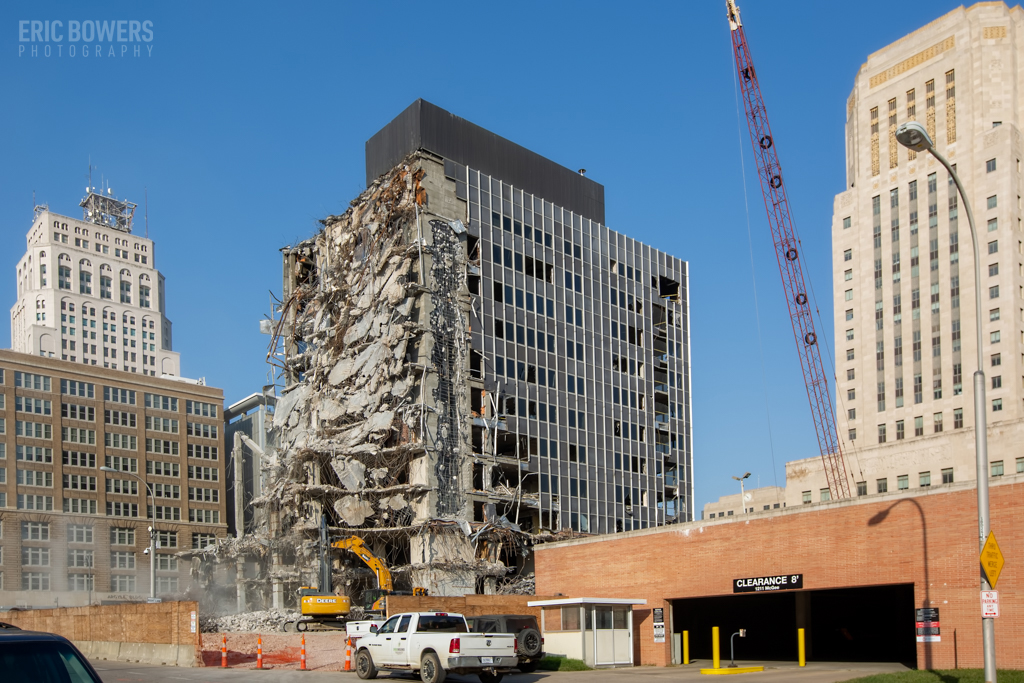 KC Demolition of Board of Ed Building
