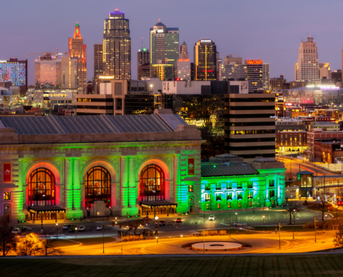 Kansas City Skyline Nov. 2020