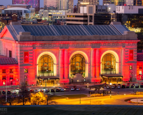 KC Union Station Dusk
