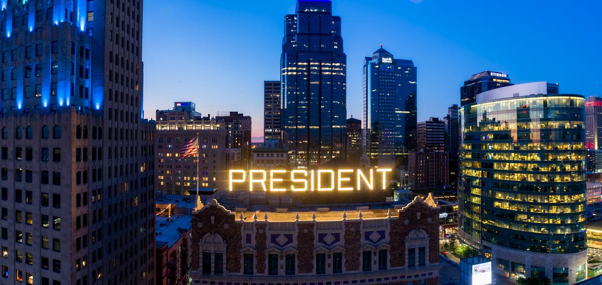 Hotel President KC Aerial