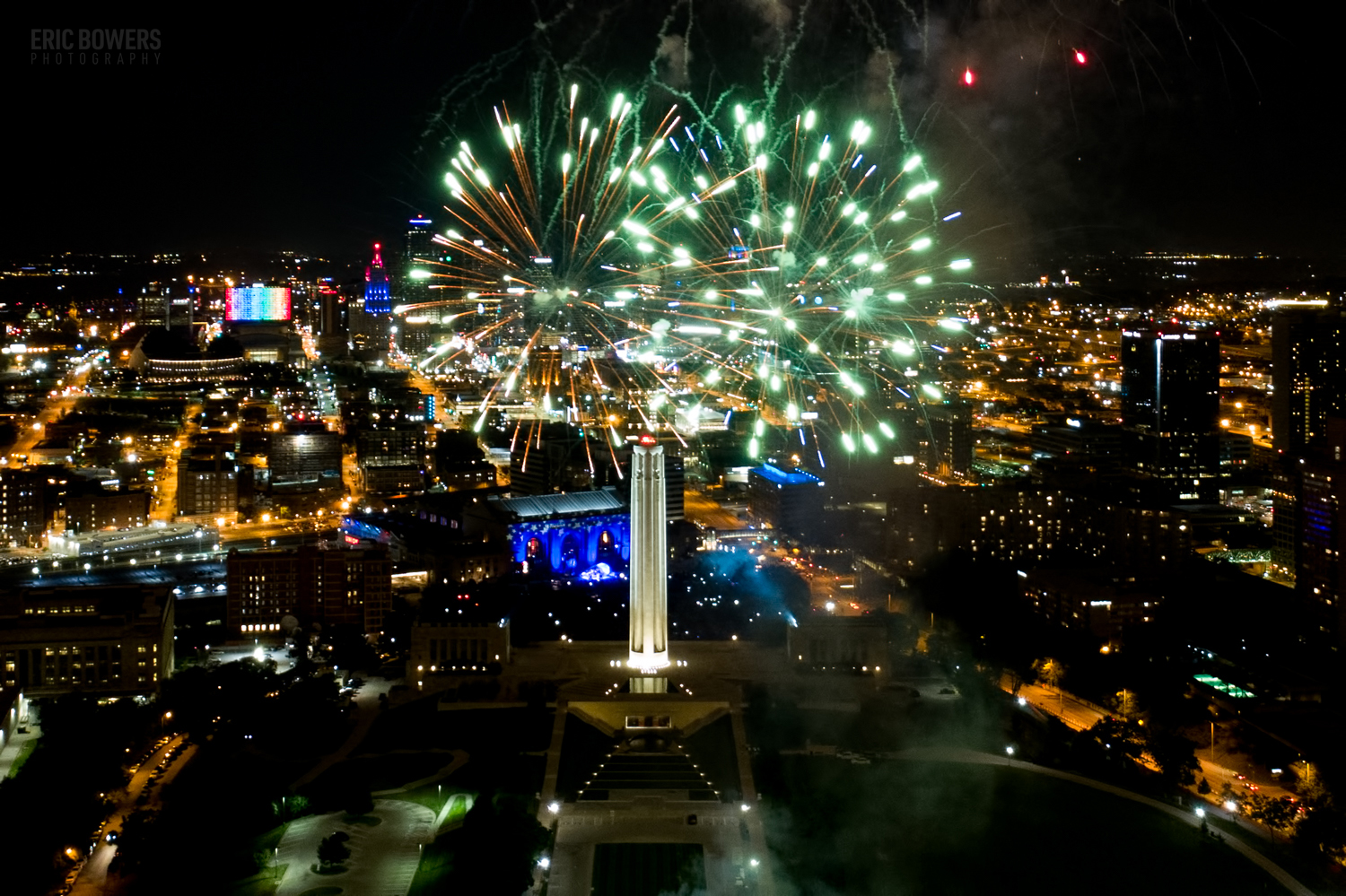 Archive Pull: Fireworks Above KCMO