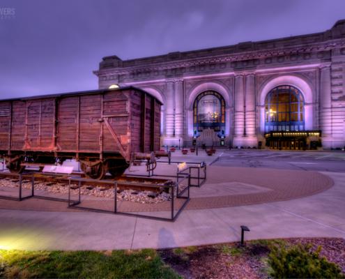 Holocaust Boxcar at Union Station